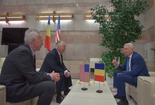 Rex Tillersonnal találkozott Teodor Meleșcanu