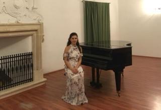 Gebe-Fügi Renáta a Mozart Fesztivál első díjas énekese