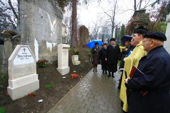 Finály Henrik és Melka Vince síremlékét állították helyre
