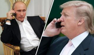 Donald Trump telefonon egyeztetett ...