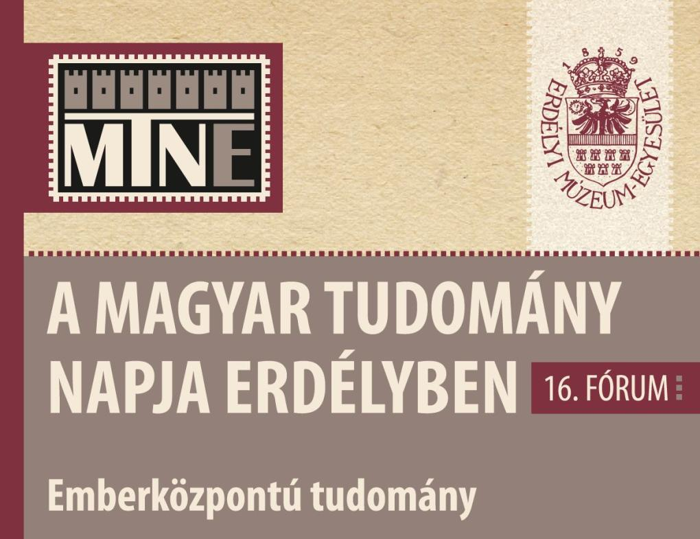 Novemberben zajlik a Magyar Tudomány Napja Erdélyben 16. fóruma