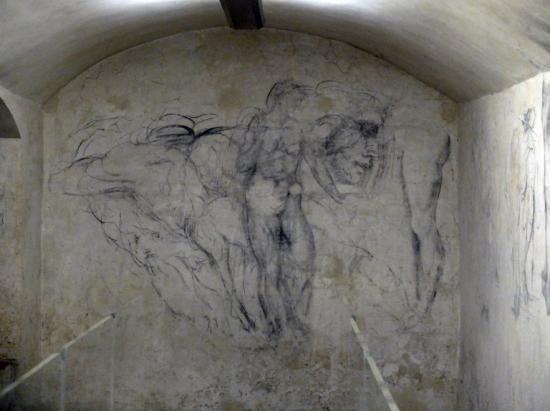 """Először nyitják meg a látogatók előtt Michelangelo """"teleskiccelt"""" búvóhelyét Firenzében"""