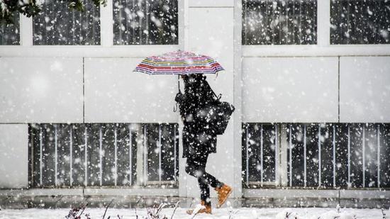 Sárga jelzésű hó-, eső-, szélriasztás országszerte holnap estig