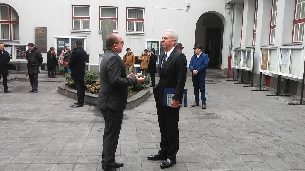Hans Klemmet a romániai kisebbségek helyzetének megítéléséről is kérdeztük
