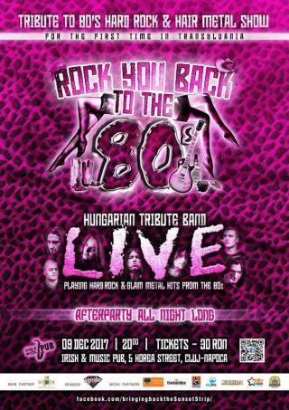 Sunset Strip legendás klubjaiban a 80-as években játszott rock zenét elevenítik fel