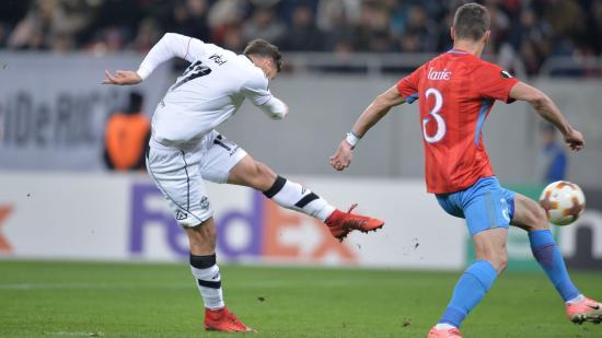 Labdarúgó Európa Liga: Vécsei győzelmet érő gólt lőtt Bukarestben