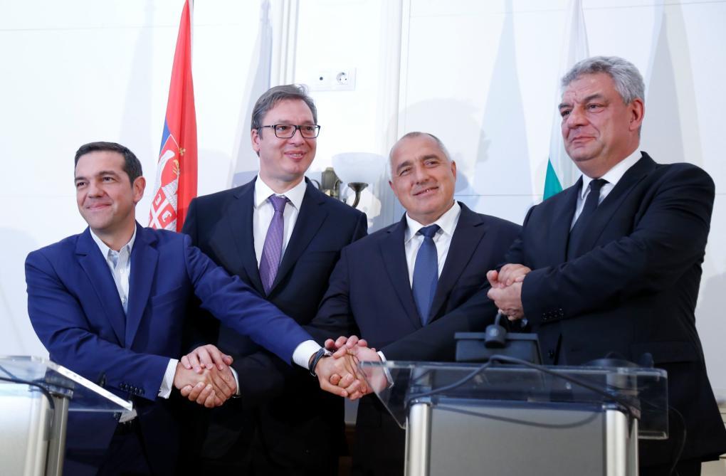 Ciprasz, Vucic, Boriszov és Tudose Belgrádban
