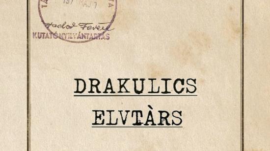 Forog már a Drakulics elvtárs című film