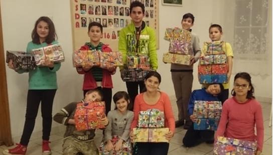 Árvák a rászorulókért: zsoboki ajándék a módosi gyermekeknek