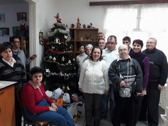 Karácsonyi együttlét a Gondviselés Egyesületnél