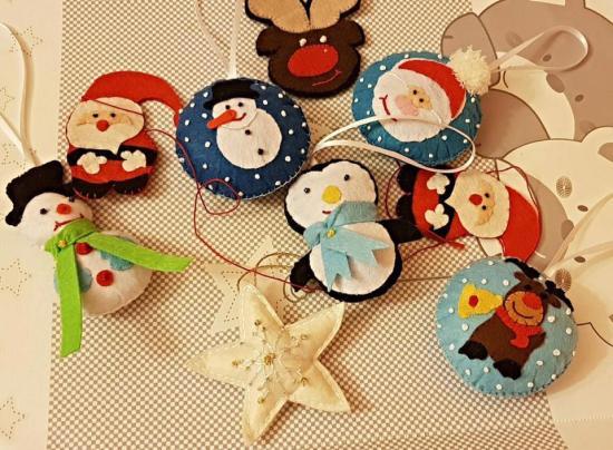 """Karácsonyi díszekből """"handmade"""" a divat"""