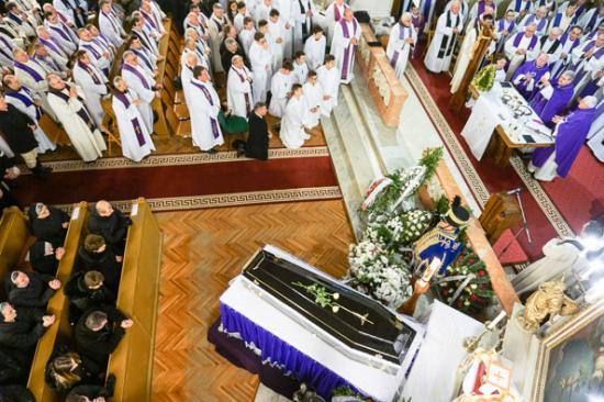 Székelyudvarhelyen temették el Kovács Sándort