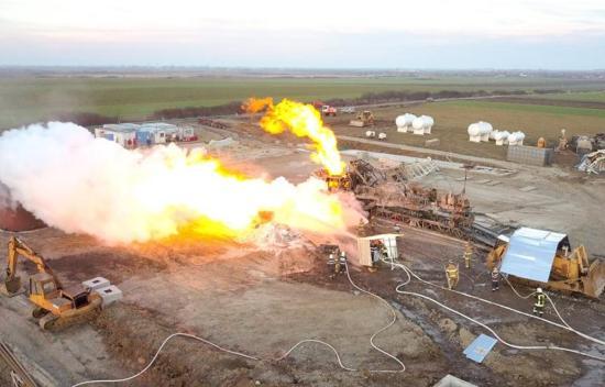 Befejeződött a tűzoltás a nagymajtényi gázkútnál