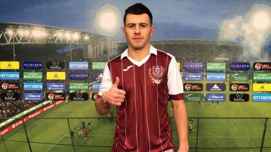 Új középpályás a CFR-nél: Bordeianu a Botoşani-i FC-től érkezett