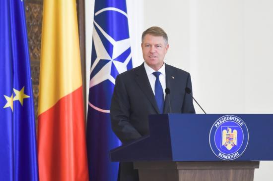Johannis: Romániában folytatni kell a jogállamiság erősítését
