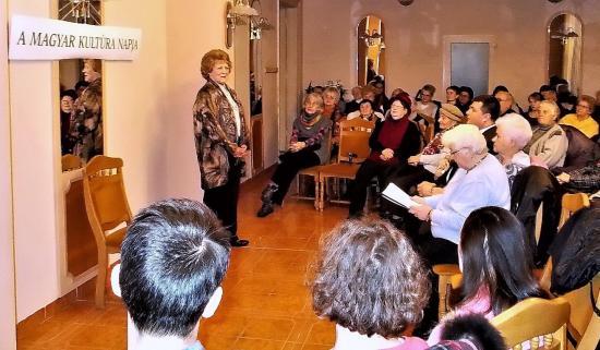 Verssel ünnepelték a Magyar Kultúra Napját a katolikus nőszövetségnél