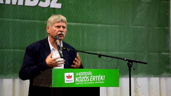 Verestóy Attilától búcsúzik a Romániai Magyar Demokrata Szövetség