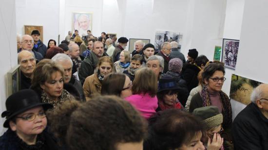 A Barabás Miklós Céh kolozsvári csoportjának kiállítása a Bánffy-palotában