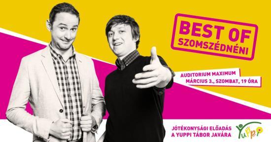 Best of Szomszédnéni: Jótékonysági előadás a Yuppi Tábor javára