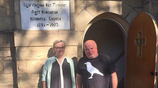 Komjáthy Ilona református lelkész üzenete Pittsburgh-ból Kolozsvárra
