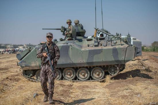 Egy nap alatt nyolc katonát vesztett a török haderő a szíriai hadműveletben