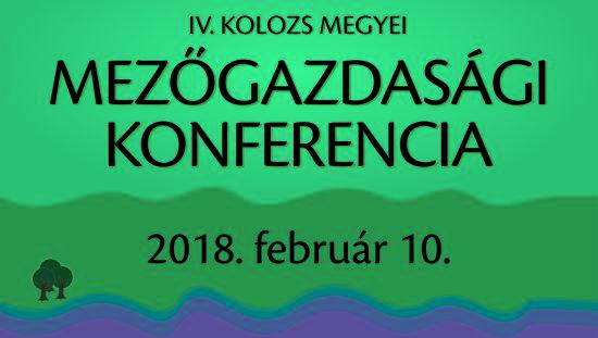 Mezőgazdasági konferencia negyedik alkalommal Kolozsváron