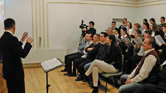 Szent Cecília kórus: új székhely- és próbaterem-szentelés