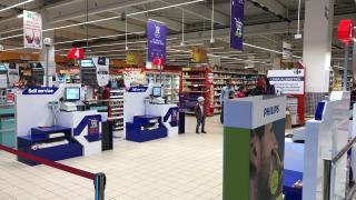 Játsszunk pénztárasdit: gyors fizetés a hipermarketben