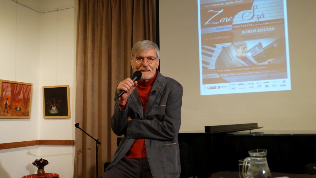Boros Zoltán volt a ZeneSzó vendége