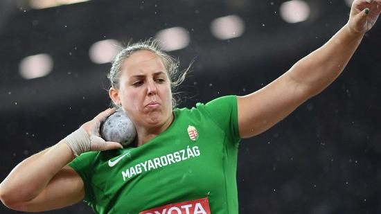 Fedettpályás atlétikai vb: Márton Anita országos csúccsal aranyérmes