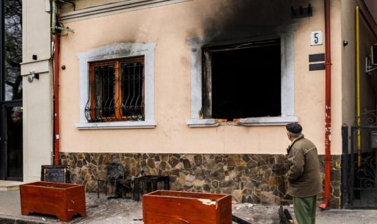 Elfogta az ukrán rendőrség elfogta a KMKSZ-székház elleni pokolgépes támadás elkövetőit