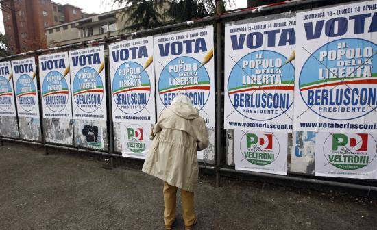 Irányváltás olasz módra