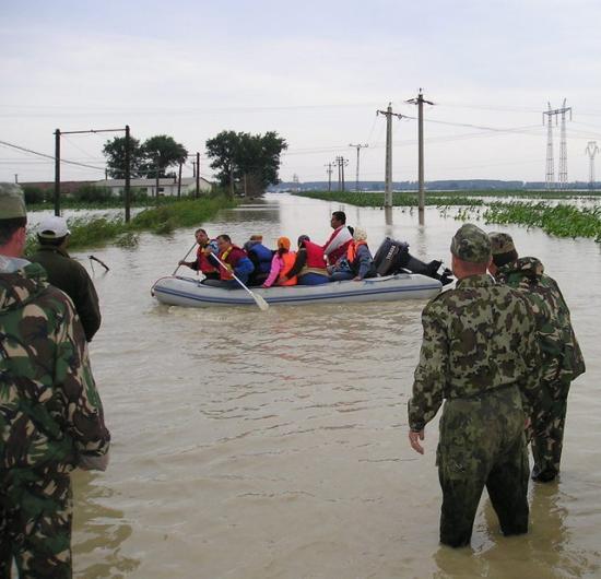 Elsőfokú, sárga figyelmeztetés árvízveszély miatt