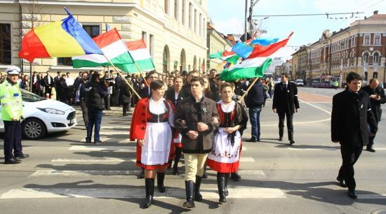 Békés ünneplés Kolozsváron március 15-én