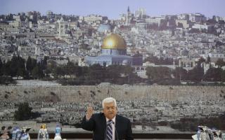 A Fehér Ház tiltakozott a palesztin elnöknek az amerikai nagykövetre tett sértő megjegyzései miatt