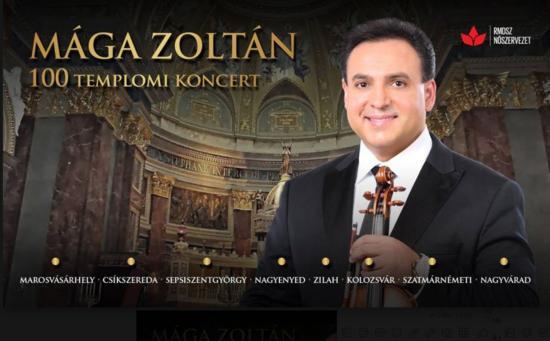 Kolozsváron koncertezik Mága Zoltán