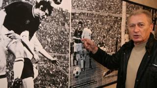 Dunai Antal olimpiai bajnok labdarúgó 75 éves