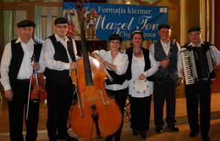 Kolozsváron koncertezik a Mazel Tov klezmeregyüttes