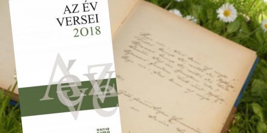 Száz költő alkotásai szerepelnek Az év versei 2018 antológiában