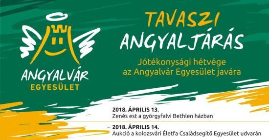Tavaszi angyaljárás – jótékonysági hétvége az Angyalvár Egyesület javára