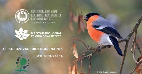Kolozsvári Biológus Napok holnaptól