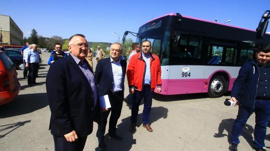Wifi és hangosbemondó is van az új kolozsvári buszokon