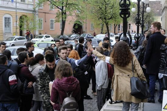 Japánsztrájkba kezdtek a BBTE diákjai