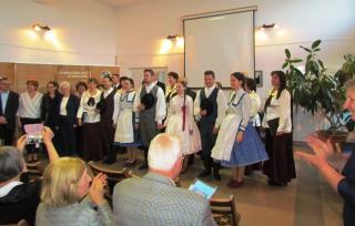 Sárospatakiak látogattak a nagyenyedi magyar házba