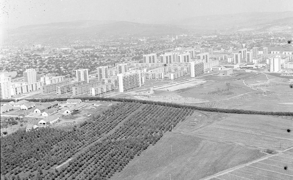 Kolozsvár, a Györgyfalvi negyed az 1960-70-es években