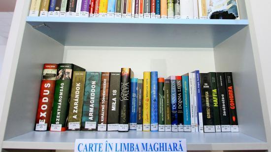"""Dán krimik és új szépirodalom magyarul a """"román"""" könyvtárban"""