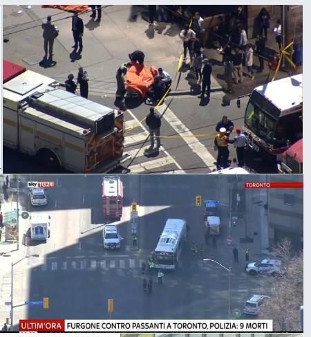 Toronto: gyalogosok közé hajtott egy kisbusz, halottak