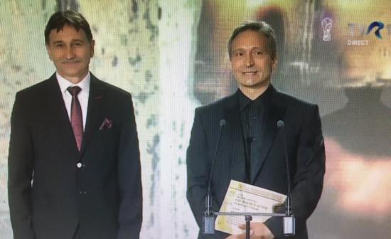 UNITER-díj Bogdán Zsoltnak