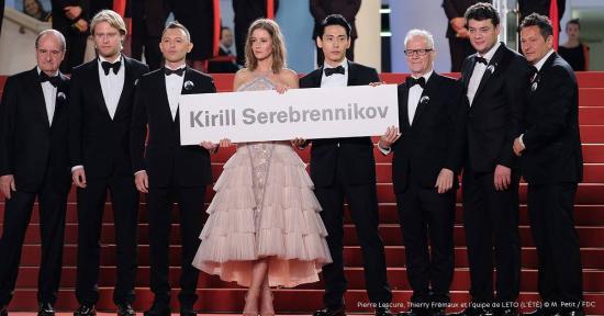 Cannes – A moszkvai házi őrizetben lévő Kirill Szerebrennyikovot ünnepelte a fesztivál
