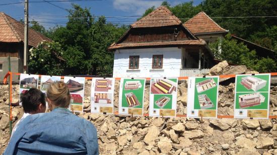 Kétszintes ház épül a várfalvi EKE-Várban